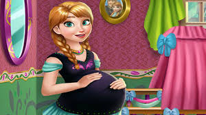 frozen princess pregnant anna maternity deco the walt disney