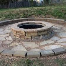 Backyard Fire Ring by Found It At Wayfair Random Stone Fire Pit More Pins Like