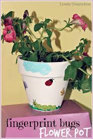 spring crafts for kids decorate terra cotta pots terra cotta