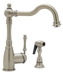 Kitchen Faucet Amazon Blanco 157 052 St Grace Kitchen Faucet With Side Spray Satin