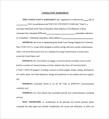consultant contract template consultant agreement template best