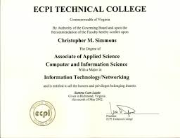 technical support objective resume resume simmons computer solutions ecpi technical college a a s in computer networking