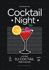 cocktail night party by lilynthesweetpea graphicriver