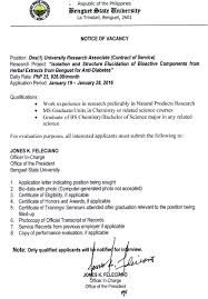 employment opportunities benguet state university forty two