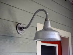 galvanized gooseneck barn light you light up my life and my back porch gather buildgather build
