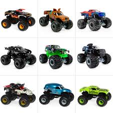 wheel monster jam trucks list wheels monster jam 1 24 diecast vehicle assorted big w