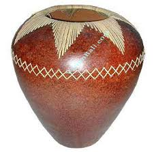 Wood Vases Wholesale Vase Wholesale Made Of Pottery Clay Bamboo Wood From Bali And