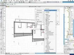 Floor Plan 2d Archicad 10 04 The Virtual Building 2d And Floorplan Youtube