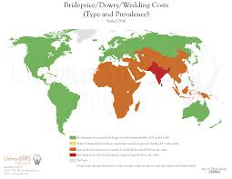 wedding costs brideprice dowry by country
