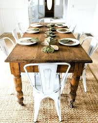round farmhouse kitchen table farmhouse style dining table and chairs medium size of style dining