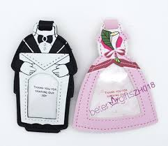 and groom luggage tags 300pcs 150pair travel tag supply luggage tag beter zh018 wedding