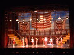 image result for footloose the musical set design set design