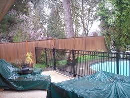 Backyard Pool Images by Swimming Pool Fence Gallery Pacific Fence U0026 Wire Co