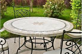 stone patio table top replacement stone patio table round outdoor patio table stone marble mosaic