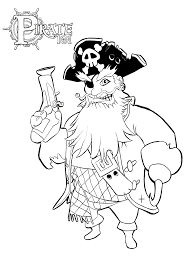 pirate coloring pages from the soon to be launched game