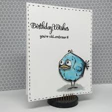 tim holtz halloween dies create a card with tim holtz dies and stamps bird crazy blitsy