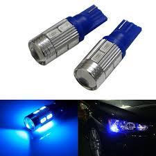 Led Blue Light Bulb by Leebo T10 Led Parking Bulb Or Pilot Light Blue High Power