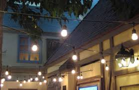 Commercial Outdoor String Lights Differences In Commercial Outdoor String Lights With Outdoor