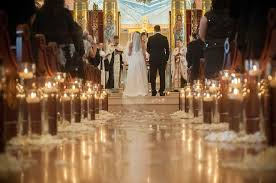 church wedding decorations creative church wedding candles decorations weddceremony