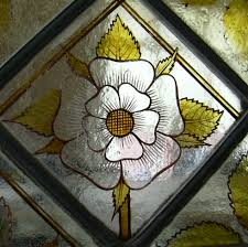 painting on glass windows tudor rose stained glass windows palmer conservation glass