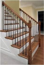 Wood Banisters And Railings Wrought Iron Stair Spindles Google Search Home Repair