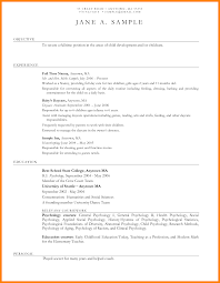 Sample Resume For Daycare Worker by Resume Sample For Nanny Best Nanny Resume Nanny Resume Sample