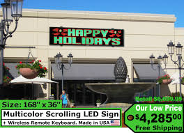 lighted message board signs digital signage displays electronic message boards scrolling led