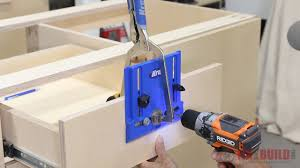 kreg cabinet hardware jig how to build a base cabinet with drawers fixthisbuildthat