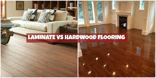 wood versus laminate flooring meze