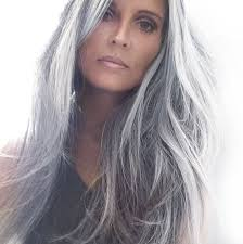 afbeeldingsresultaat voor beautiful grey haired woman hair