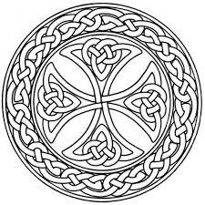 mandala monday free celtic mandalas color