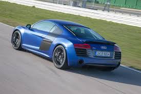 Audi R8 Blue - 2014 sepang blue audi r8 v10 plus exterior rear eurocar news
