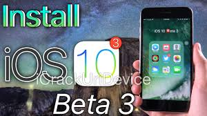 new install ios 10 beta 3 free no computer ios 10 beta 3 changes