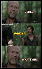 Walking Dead Season 3 Memes - deadshed productions derle merle carl t dog the walking dead