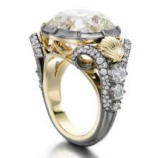 mermaid wedding ring mccormack launches couture engagement rings