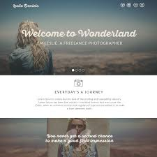 20 free psd portfolio and resume website templates 2017 colorlib