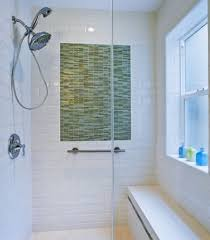 Tiny Bathroom Design Small Bathroom Design With Little Green Wall Tiles And Shower