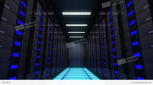 data center servers computer servers in a data center loopable stock animation 2802400