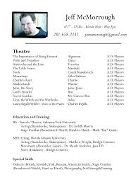 us resume format professional actor headshots how to make an acting resume sle actor resume beginner job acting