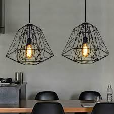 Retro Pendant Lights 100 240v Ac Creative Retro Wrought Iron Pendant Lights Industrial