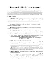 Notice Of Termination Of Notice Of Commencement by Free Tennessee Standard Residential Lease Agreement Template Pdf