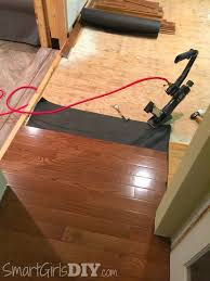 Installing Laminate Flooring On Plywood Subfloor How To Install Hardwood Flooring In A Kitchen