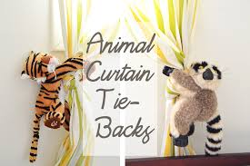 Jungle Curtains For Nursery Homan At Home