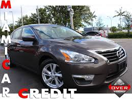 nissan altima 2013 under 10000 2014 used nissan altima 2 5 sv at miami car credit llc serving