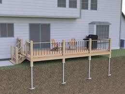 Sunrooms Lexington Ky Helical Deck Support Piers In Frankfort Louisville Lexington