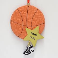 personalized basketball ornament great gifts for basketball fans