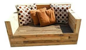canap en palette en bois location canapé extérieur 2 places en bois de palette lille