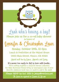 owl themed baby shower invitations cute owl themed baby shower