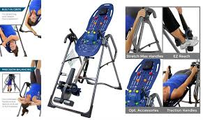 Heavy Duty Inversion Table Top 10 Best Inversion Tables Reviewed In 2017