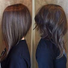 mid length hair cuts longer in front the 25 best long aline haircut ideas on pinterest long aline
